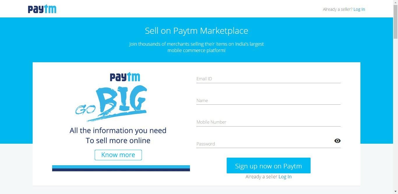 Paytm Website Template