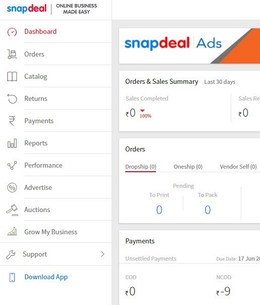 c0298b841b7 How to become seller on Snapdeal