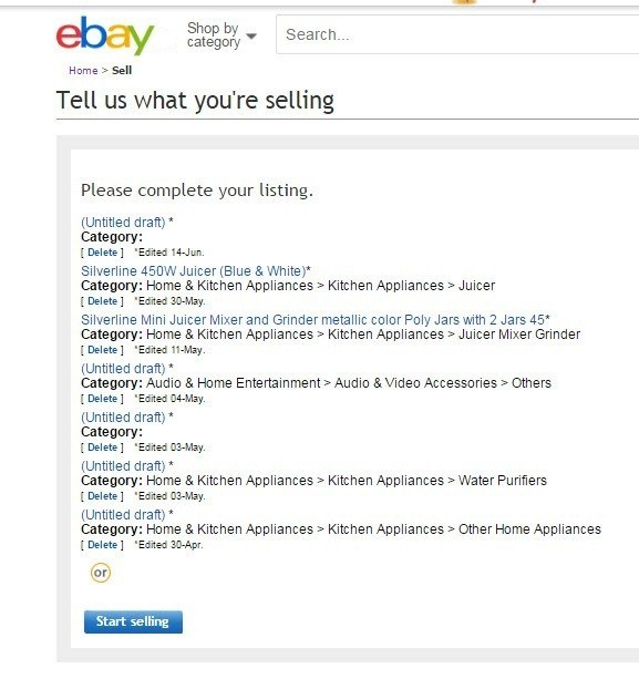 How To Sell Products On Ebay In Ebay Product Listing Ebay Store Design